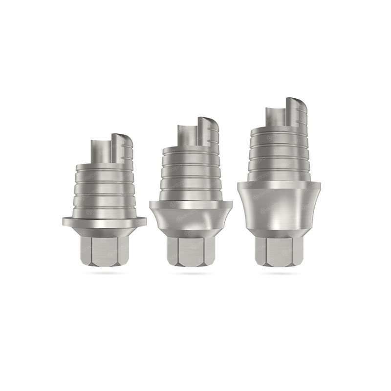 Ø4.5 Anti-Rotational CAD/CAM Ti-Base - Internal Hex (SP)