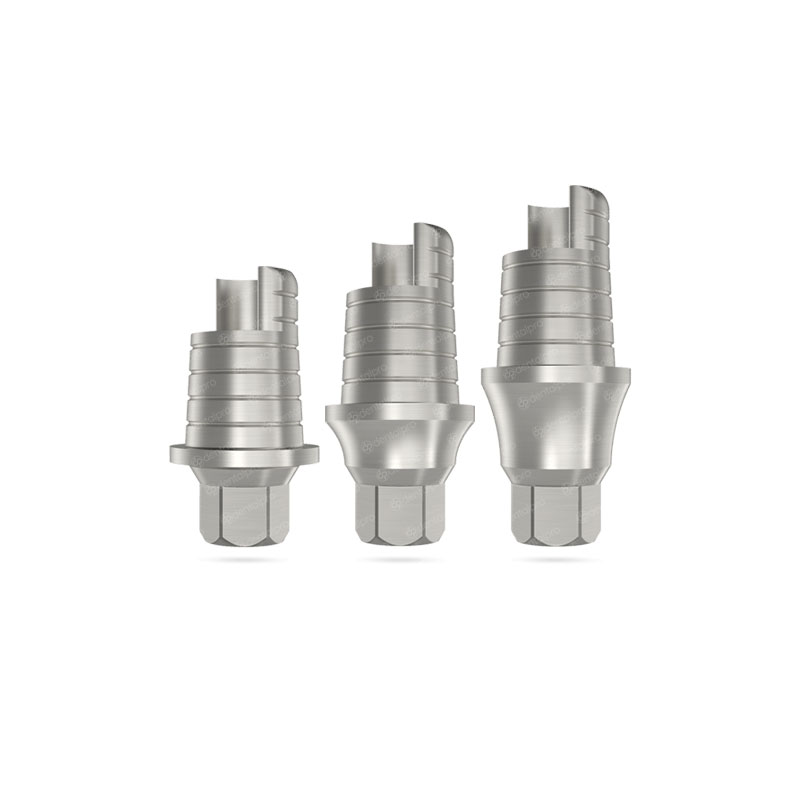 Ø3.5 Anti-Rotational CAD/CAM Ti-Base - Internal Hex (NP)