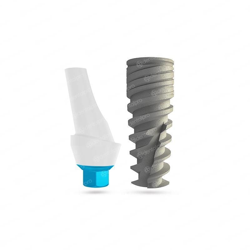 NEO® Implant + Aesthetic Anatomic Zirconia Abutment - Internal Hex