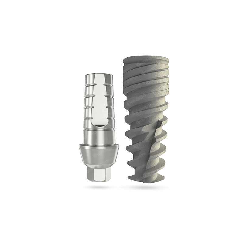 NEO® Implant + Straight Abutment - Internal Hex