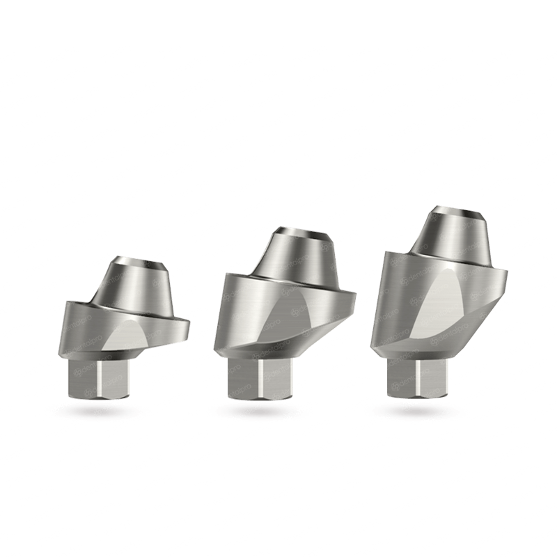 9° Angled Multi Unit Titanium Abutment for Dental Implant - Internal Hex (SP)