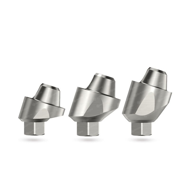 17° Angled Multi Unit Titanium Abutment for Dental Implant - Internal Hex (SP)