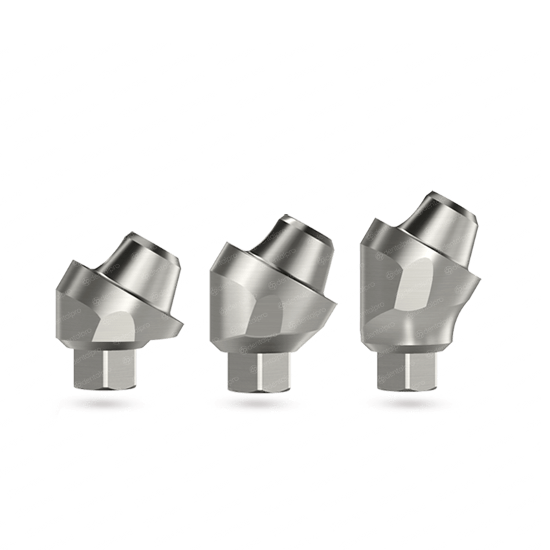 30° Angled Multi Unit Titanium Abutment for Dental Implant - Internal Hex (SP)