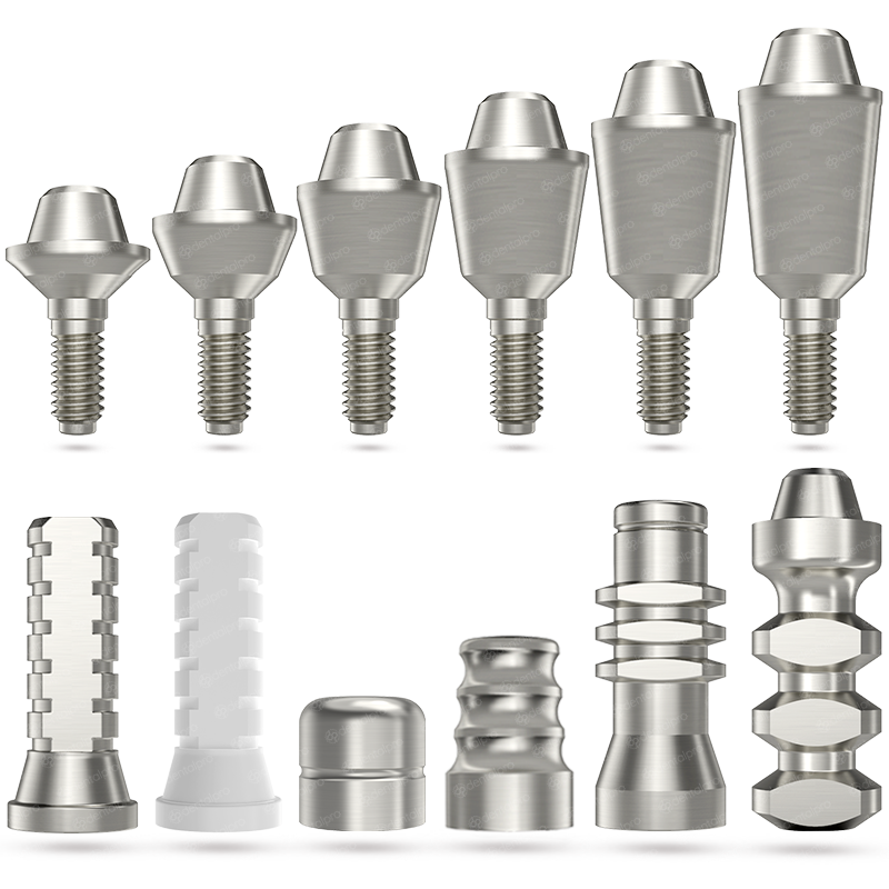 Titanium Straight Multi Unit Set - Internal Hex - Internal Hex (SP)