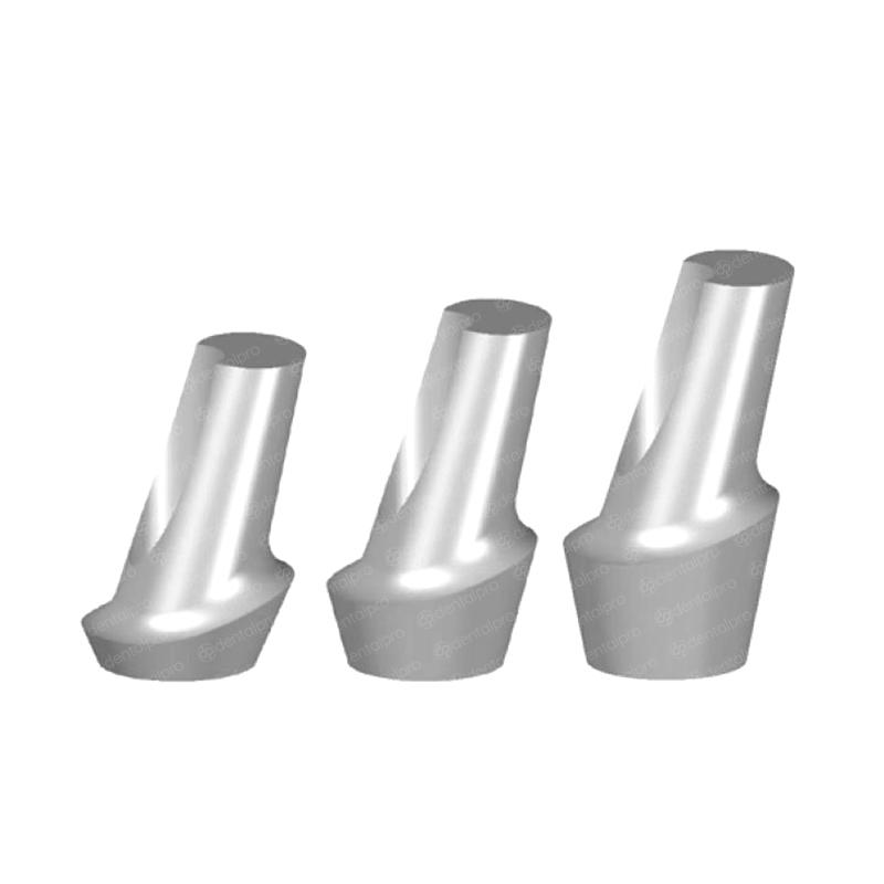 15° Angled Titanium Abutment Nobel Brånemark® Compatible - External Hex (RP)