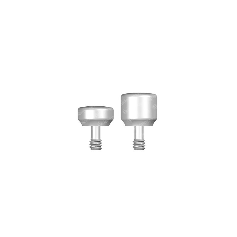 Ø5.0 Titanium Healing Cap Nobel Brånemark® Compatible - External Hex (RP)