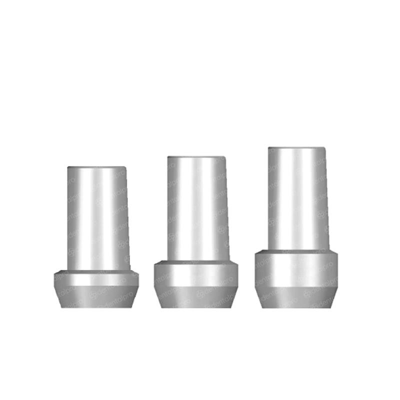Straight Titanium Abutment Nobel Brånemark® Compatible - External Hex (RP)