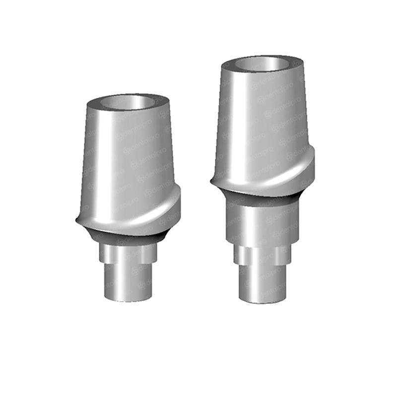 Straight Anatomic Titanium Abutment Nobel Replace® Compatible - Trilobe (NP)