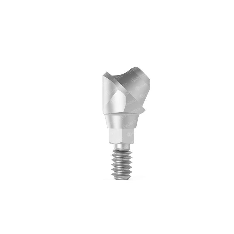 45° Angled Multi Unit Titanium Abutment Nobel Active® Compatible - Active Hex (NP)