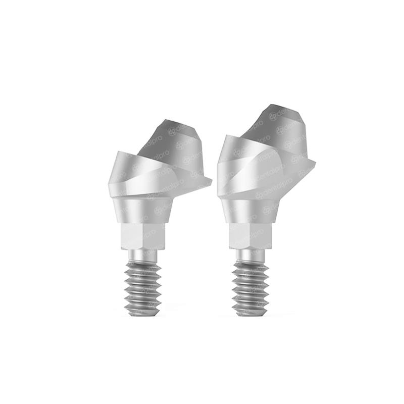 17° Angled Multi Unit Titanium Abutment Nobel Active® Compatible - Active Hex (NP)