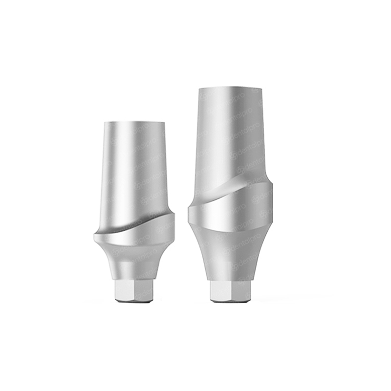 Straight Titanium Abutment for Nobel Active® Compatible - Active Hex (NP)