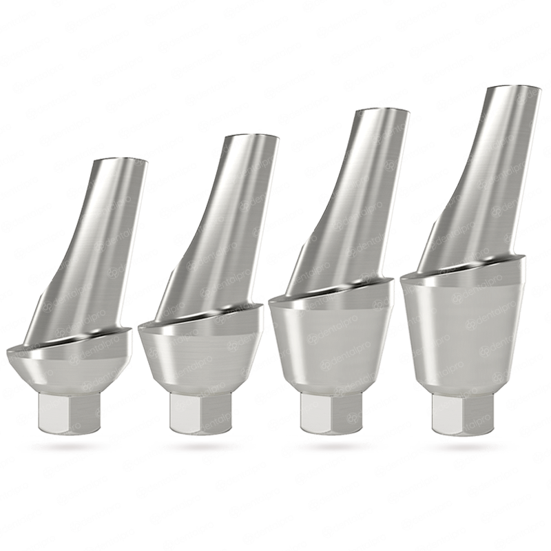 15° Angled Titanium Shoulder Abutment for Dental Implant - Internal Hex (SP)