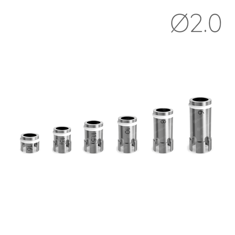 Ø2.0 Drill Stoppers for Safe & Accurate Drilling Procedure