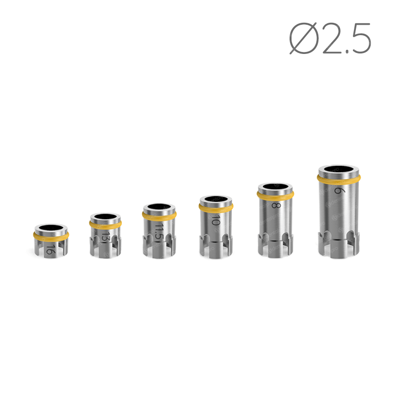 Ø2.5 Drill Stoppers for Safe & Accurate Drilling Procedure