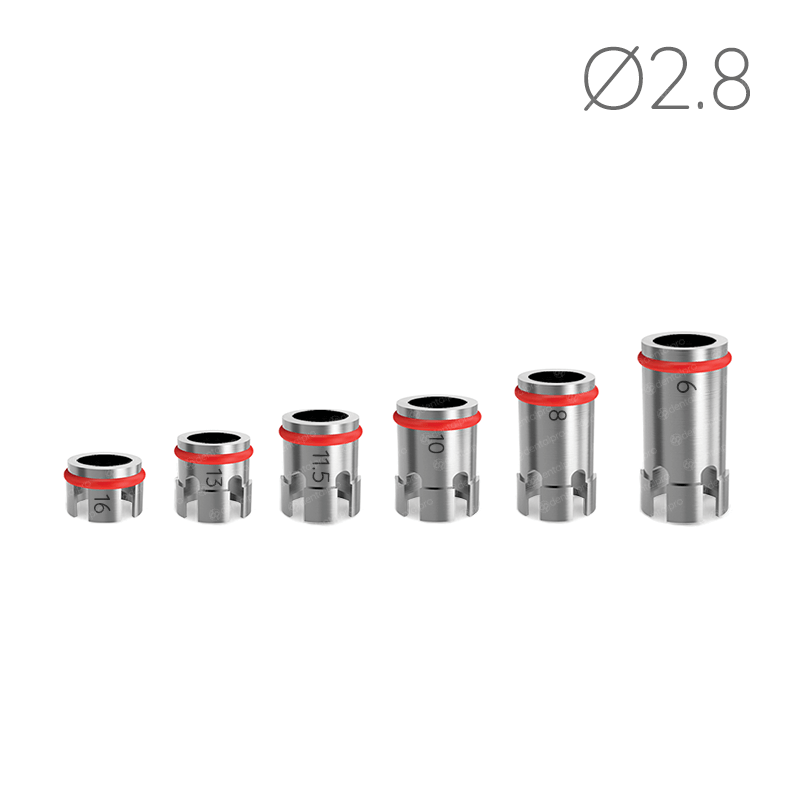 Ø2.8 Drill Stoppers for Safe & Accurate Drilling Procedure