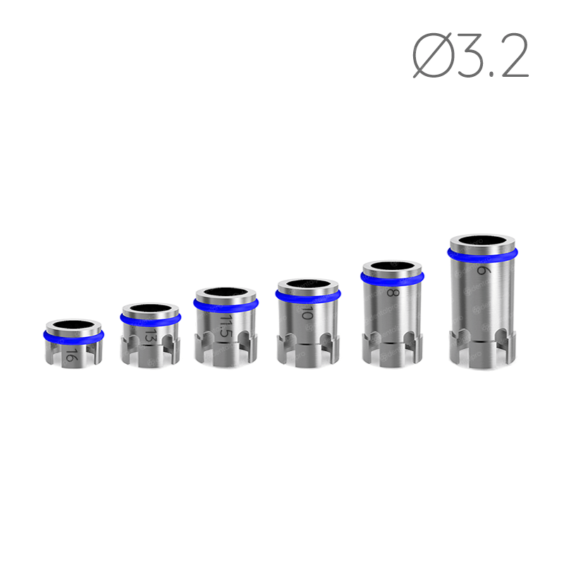 Ø3.2 Drill Stoppers for Safe & Accurate Drilling Procedure
